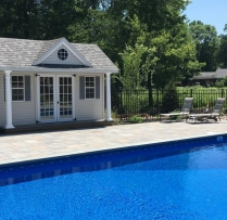 10 x 14 Victorian Pool House