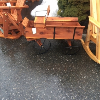 MM-18 Cedar Buckboard Wagon $300