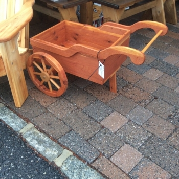 MM-19 Cedar Peddlers Cart $150