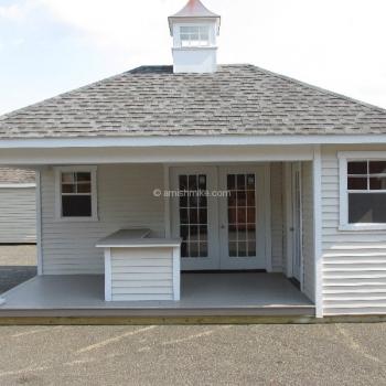 14' x 18' Custom Pool House