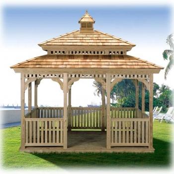 # 12 Rectangle Pagoda