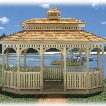# 14 Oval Pagoda