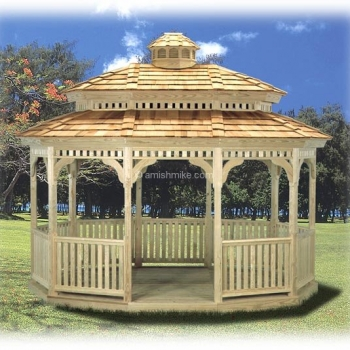 # 15 Standard Oval Pagoda
