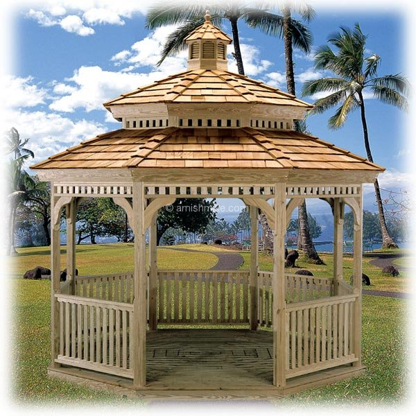 Custom Wood Gazebos