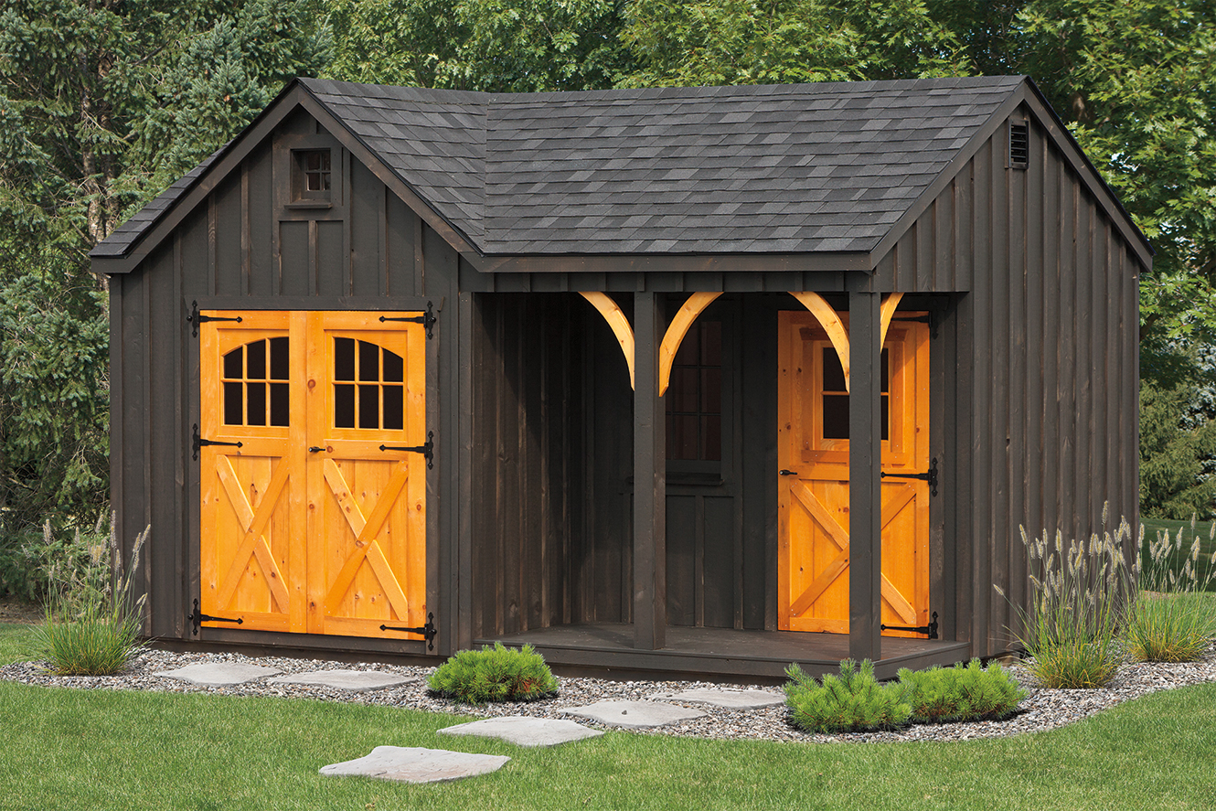 Board & Batten Heritage Sheds - Amish Mike- Amish Sheds ...
